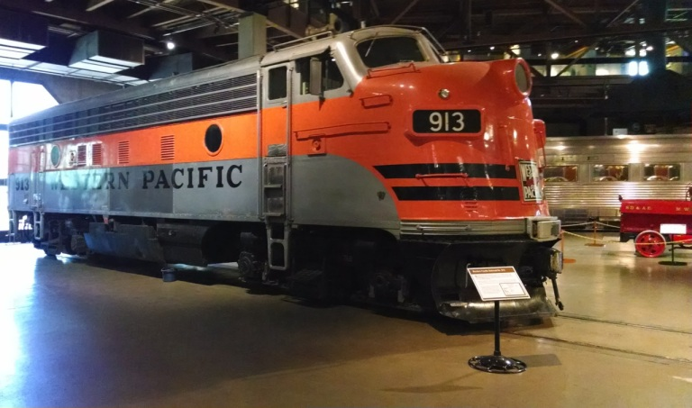 SP train from 50's