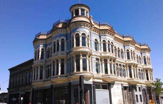 Victorian building in Port Townsend WA.
