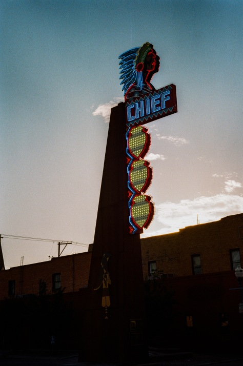 Pocatelo chief neon voight kodak gold