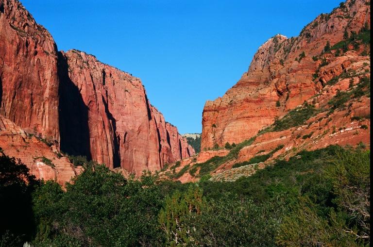 Zion canyon minolta ektar_