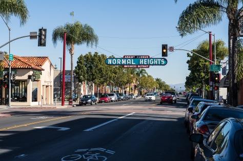 Main Street Normal Heights
